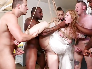 there is nothing better than a gangbang party for amazing Ella Nova