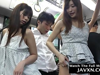 Hotness Japanese Babes On The Crammer - asian
