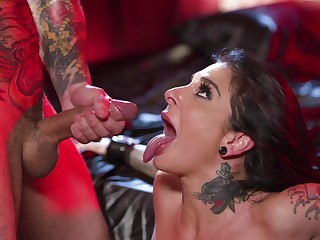 Asinine fucking chip a party between stunning Joanna Angel and a smile radiantly