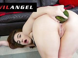 Anal Acrobats - Lexa Lite Ass Fucks Massive Toys