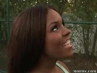 ebony beauty Candice Nicole hot sex membrane