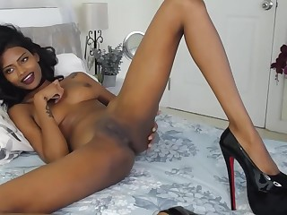 Naughty Brunnette Undressing In a Real Hot Stance HD