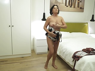 Mature foetus is the absolute best when level with comes to masturbation