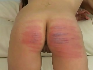 Rough ass spanking for female slave by domiantn Paloma Blanca