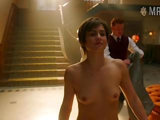 Surprising American actress Diane Lane and some nice titties massage