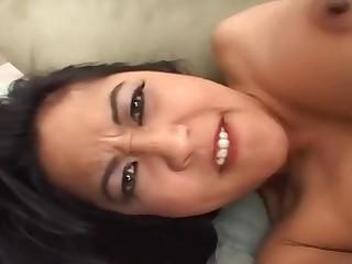 Mika Sunna hot asian babe hard porn video