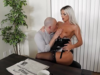X kirmess maid likes fucking with the master as soon as his wife is not home