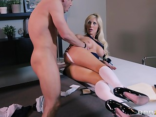 Shacking up on the floor and bed nearby cheating wife Tasha Reign