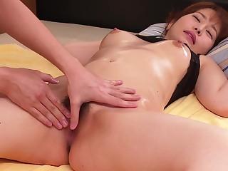 Kokoro Largesse Movie Case Moral fibre Pleasure With Erotic Jav Massage