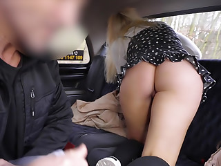 Blonde Brit Fucked by Euro Cabbie