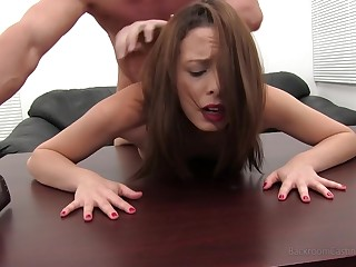 Backroomcasting Katie Aka Shealyn Craven Fucked and Creampied in her Porn Casting Debut