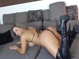 Hot German Milf riding Dick