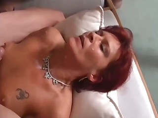 Some complying compilation of mature whores giving splendid blowjobs