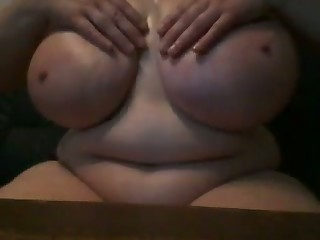 Yes she's built to fuck and she likes to show off her humongous boobies