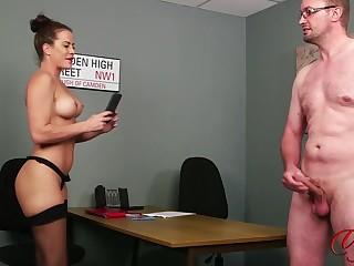 Lady Voyeur Sarah increased by Kinky Pervert