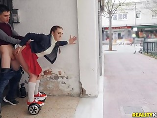 Pamela Sanchez and her Sexual connection Segway Roam the Streets